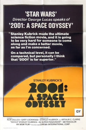 space odyssey 2001 one sheet poster 1978 re-release