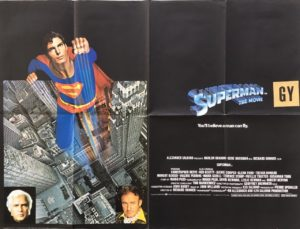 superman the movie 1978 uk quad poster