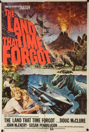 the land that time forgot uk one sheet poster 1974