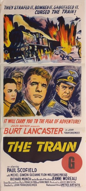 the train daybill movie poster with burt lancaster