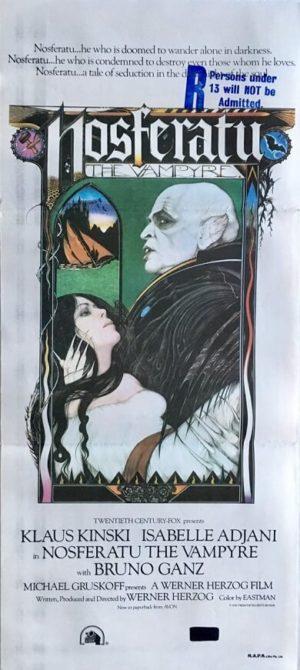 nosferatu the vampire australian daybill poster