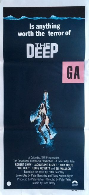 the deep australian daybill poster 1977