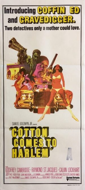 cotton comes to harlem australian daybill poster 1