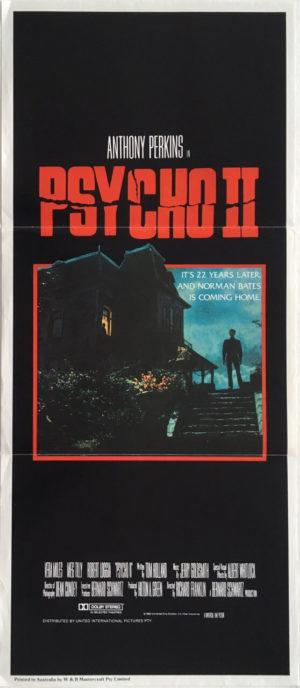 psycho 2 australian daybill poster
