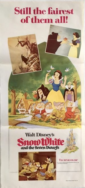 snow white and the seven dwarfs australian daybill poster 2