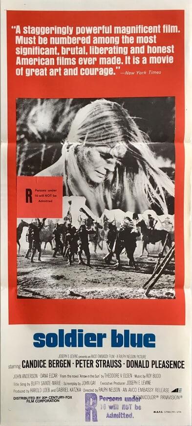 soldier blue australian daybill poster
