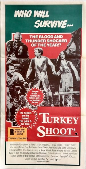 turkey shoot australian daybill poster