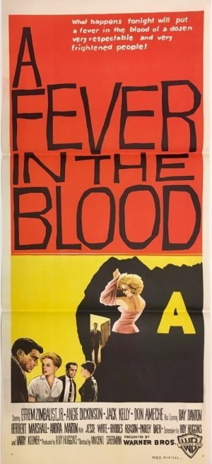 a fever of the blood australian daybill poster 1