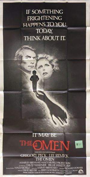 The Omen 1976 US 3 Sheet International Style F Movie Poster