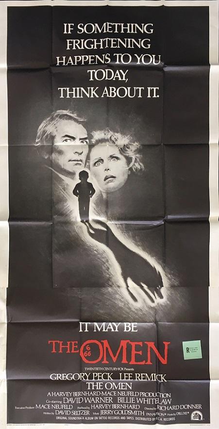 The Omen 1976 US 3 Sheet International Style F Movie Poster