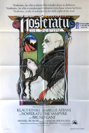 nosferatu the vampyre us one sheet movie poster