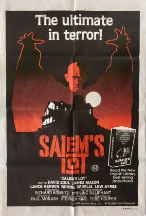 salem's lot australian one sheet movie poster 1