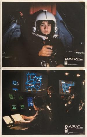 D.A.R.Y.L lobby card set (1)