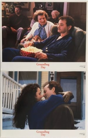 groundhog day lobby card set (1)