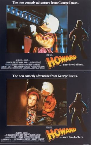 howard the duck UK lobby card set (3)