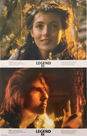 legend uk lobby card set 11 x 14 inches staring tom cruise