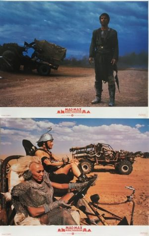 mad max beyond thunderdome lobby card set 1 (1)