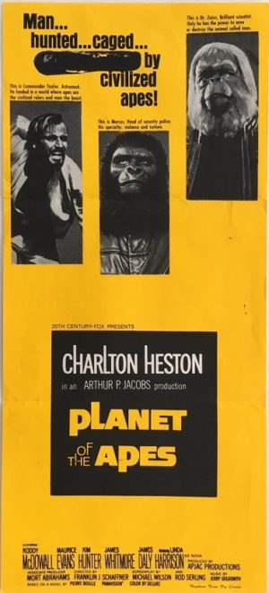 planet of the apes australian daybill poster 1