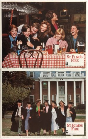 st elmo's fire US lobby card set 1 (1)