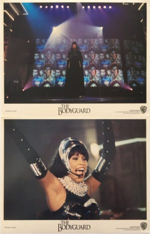 the bodyguard lobby card set 11 x 14 inches staring whitney huston and kevin costner 3