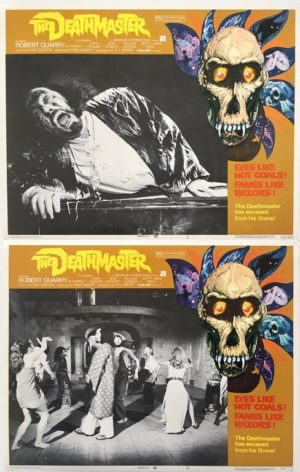 the deathmaster lobby card set 11 x 14 inches 1