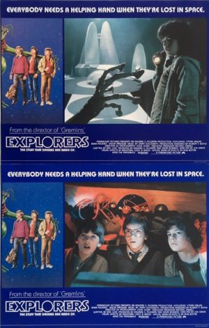 the explorers UK lobby card set 1