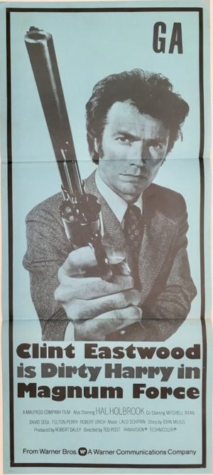 clint easwood dirty harry magnum force new zealand daybill poster 1