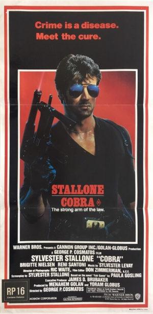 cobra stallone australian daybill poster