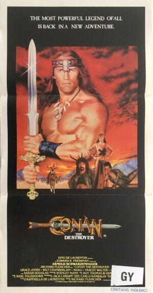 commanndos australian daybill poster with lee van cleef