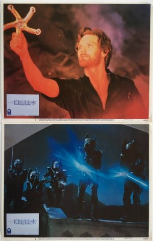 krull lobby card set 2