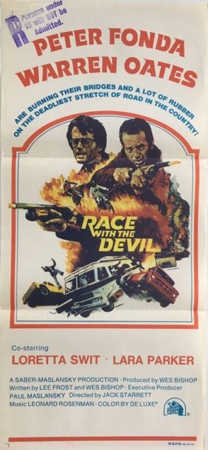 race with the devil australian daybill poster