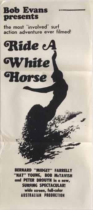 ride a white horse surfing movie australian daybill poster