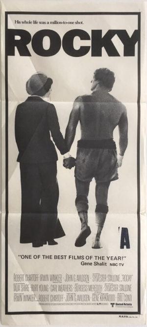 rocky australian daybill poster