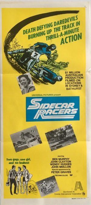 sidecar racers australian daybill poster