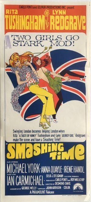 smashing time australian daybill poster
