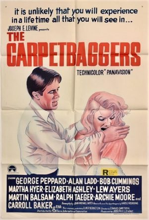 the carpet baggers australian daybill poster