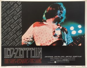 the song remains the same led zeppelin lobby card 3