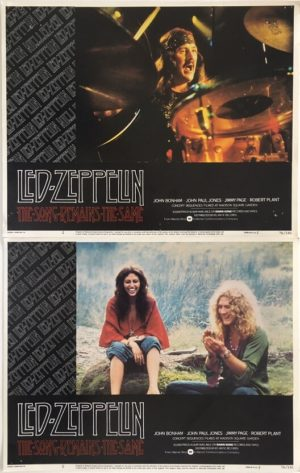 the song remains the same led zeppelin lobby cards 2