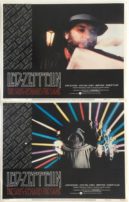 the song remains the same led zeppelin lobby cards 3