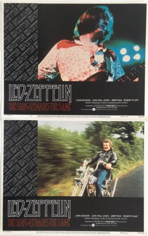 the song remains the same led zeppelin lobby cards
