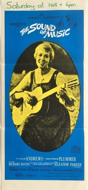 the sound of music australian daybill poster