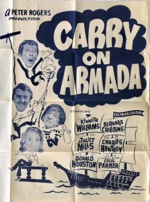 Carry On Armada Carry On Jack NZ One Sheet poster