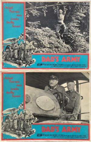 dad's army lobby cards 1971 Australia