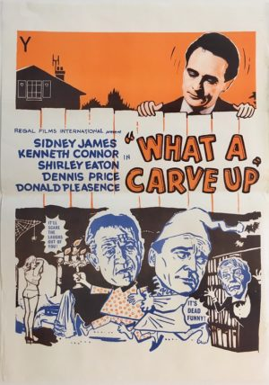what a carve up new zealand daybill poster 1962