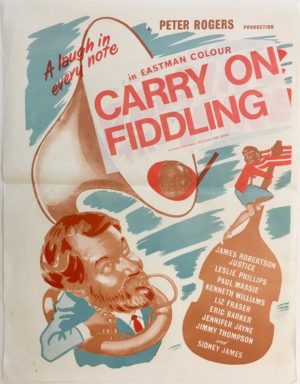 raising the wind or carry on fiddling 1961 New Zealand daybill poster (9)