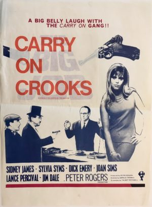 carry on crooks or the big job 1965 New Zealand daybill poster (9)