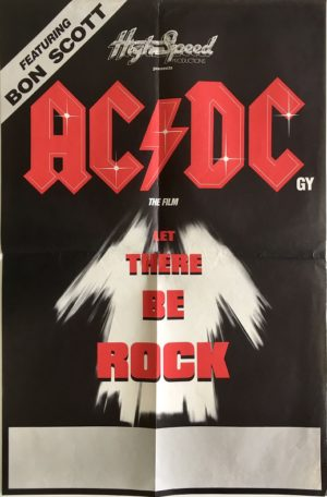 AC/DC let there be rock movie poster