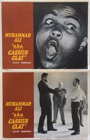 aka cassius clay muhammad ali lobby cards 3