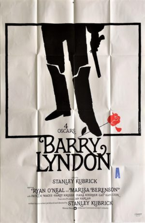 barry lyndon one sheet movie poster 1975