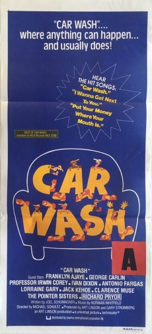 car wash australian daybill poster
